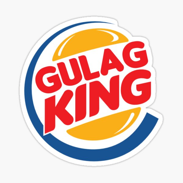 Gulag King Sticker