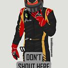 """Don't shout"" Kimi Raikkonen team radio by evenstarsaima"