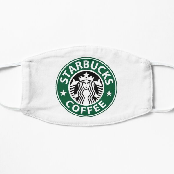 BEST SELLER Starbucks Logo Flat Mask