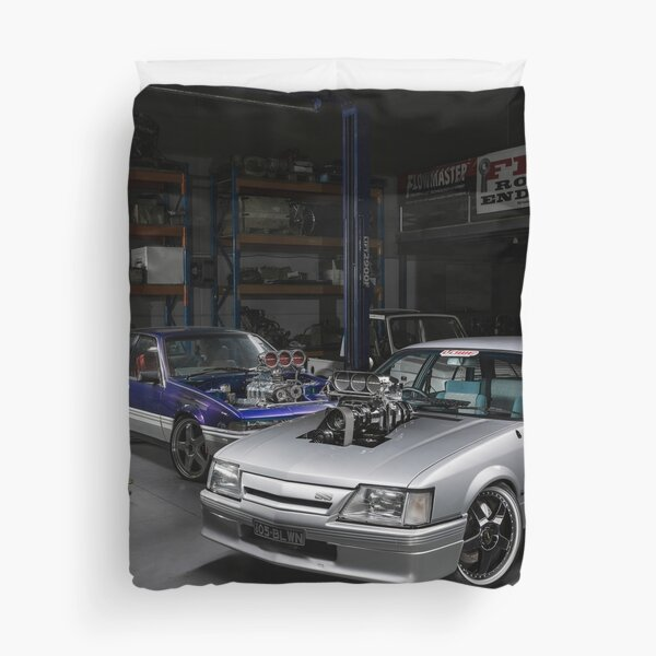Anthony Dooly's Holden VK Commodore Duvet Cover