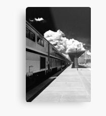 Amtrak Metal Print