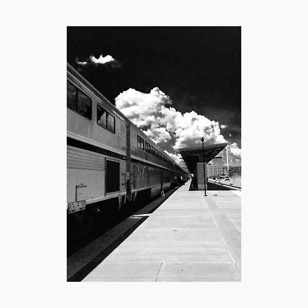 Amtrak Photographic Print
