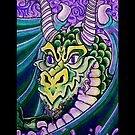 dragon close up (phone) by dedmanshootn