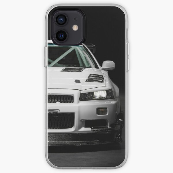 Nissan Skyline R34 GTT de Mat Wootten Coque souple iPhone