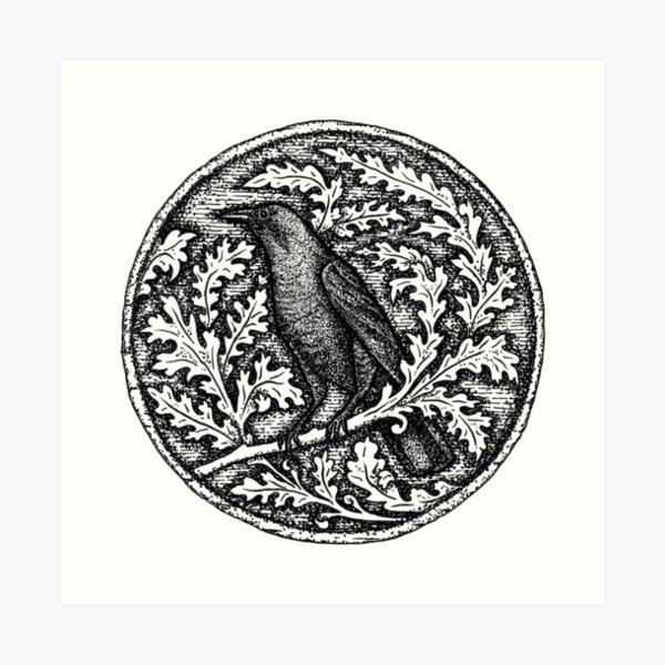 Crow Messenger by Gemma Gary Art Print