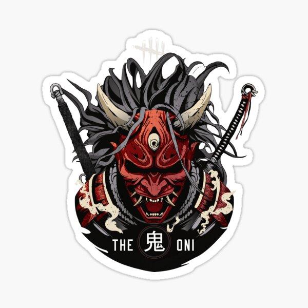 The Oni - Dead by Daylight Killer Pegatina