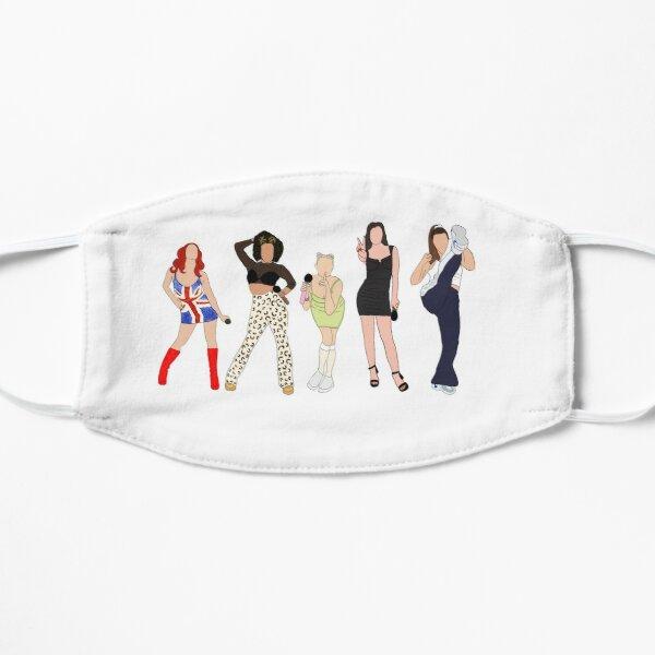 West end drive in spice girls  Flat Mask