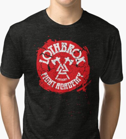 Lothbrok Fight Academy Tri-blend T-Shirt