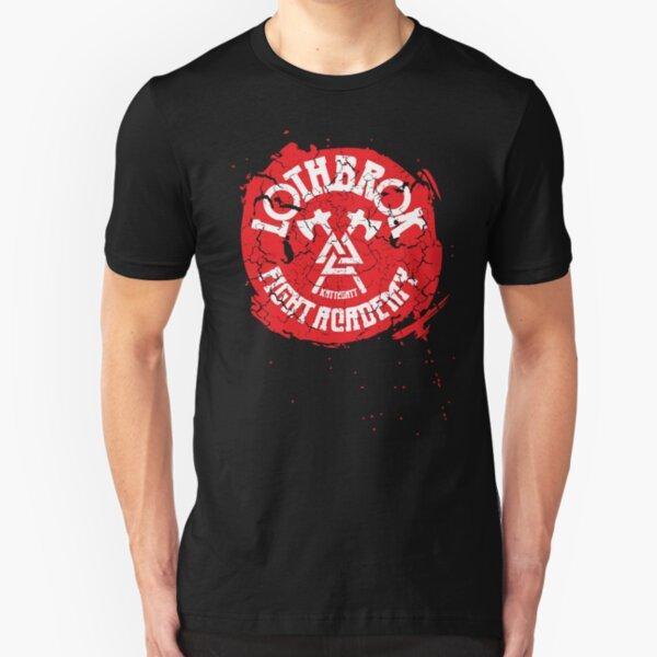 Lothbrok Fight Academy Slim Fit T-Shirt