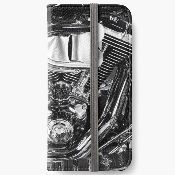 Harley Chrome 2 iPhone Wallet