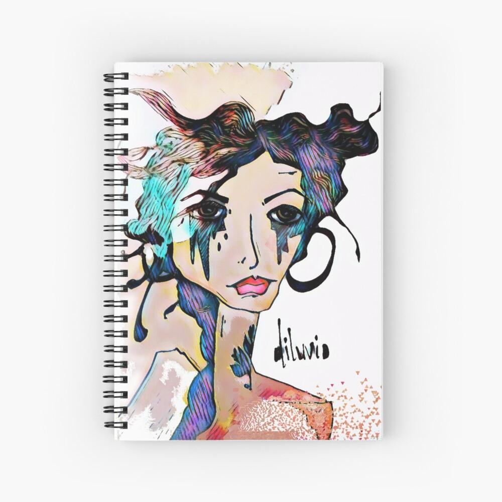 Diluvio Spiral Notebook