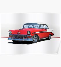 1956 Chevrolet Bel Air  Poster