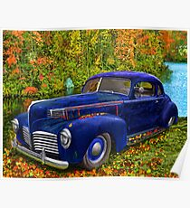 Autumn Jalopy - 1941 Hudson Poster