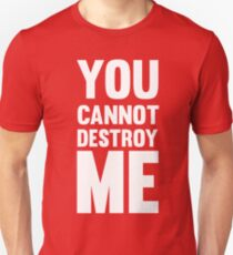 You can not destroy me T-Shirt
