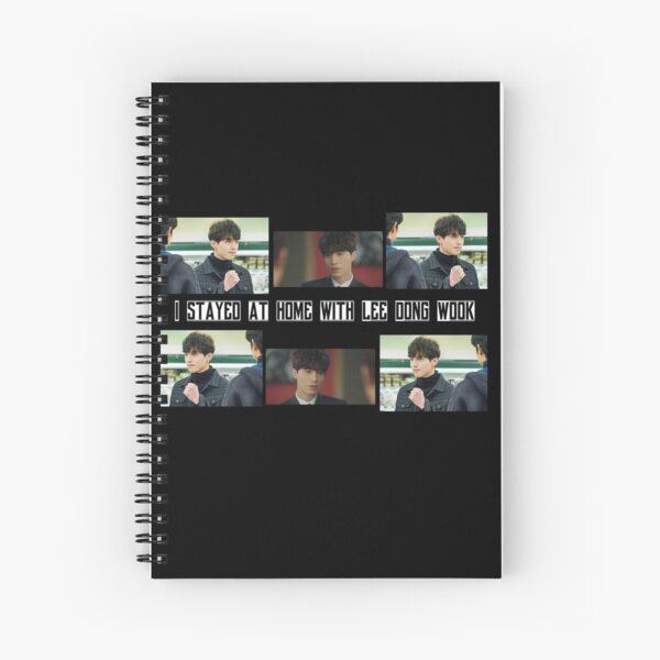 Lee Dong Wook [ISH] Series Spiral Notebook