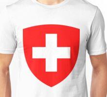Switzerland UNTOUCHED | Europe Heraldry | SteezeFactory.com Unisex T-Shirt