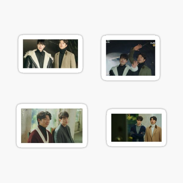 Lee Dong Wook + Gong Yoo Couple Stickers Sticker
