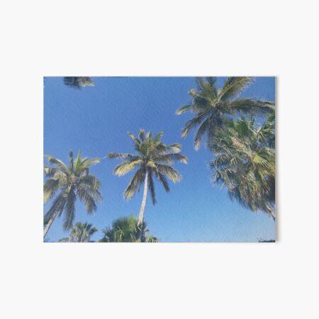 Palm-trees Eternal summer Art Board Print