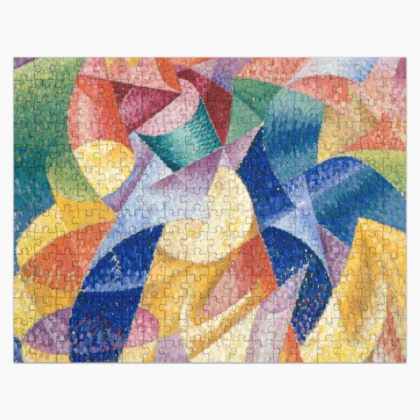 artist, painter, craftsman, Gino Severini, futurism, futurist, art Jigsaw Puzzle