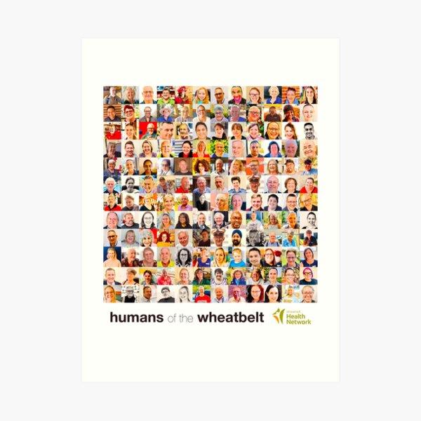 Humans of the Wheatbelt August 2020 Art Print
