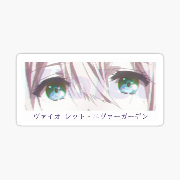 Violet Evergarden Eyes Sticker