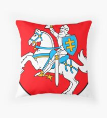 Lithuania   Europe Stickers   SteezeFactory.com Throw Pillow