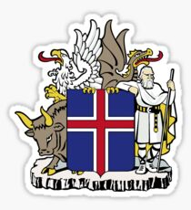 Iceland | Europe Stickers | SteezeFactory.com Sticker