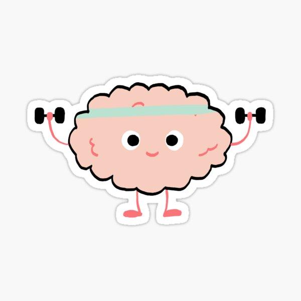 Brain Workout Sticker