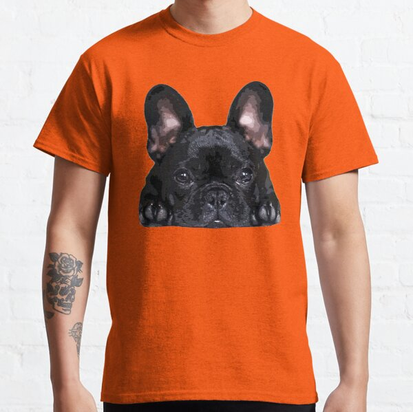French Bulldog Black Puppy Dog Classic T-Shirt