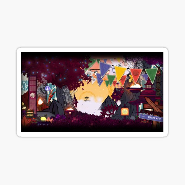 Twilight Valley Sticker
