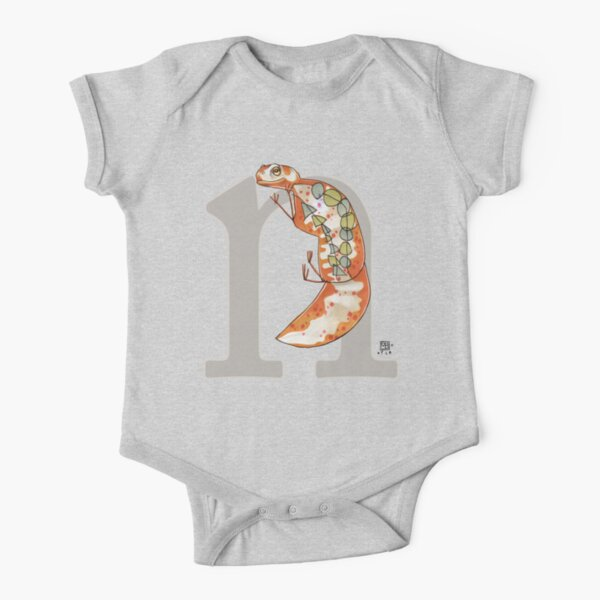 N is for NEWT Short Sleeve Baby One-Piece