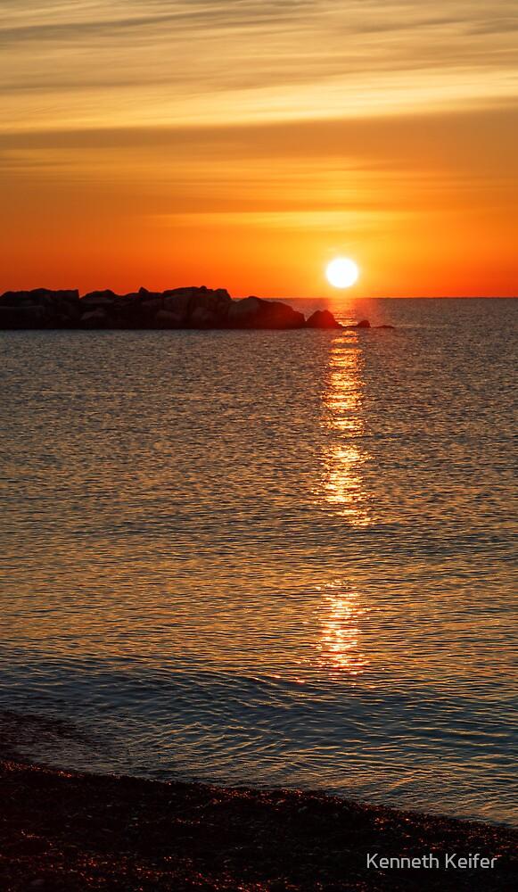 Kenosha Sunrise by Kenneth Keifer