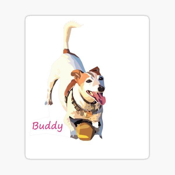 BUDDY Sticker