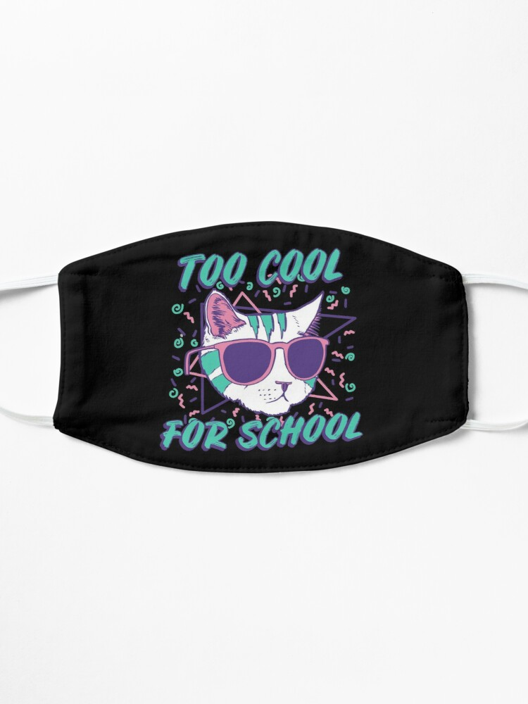 Alternate view of Too Cool For School Cat Mask
