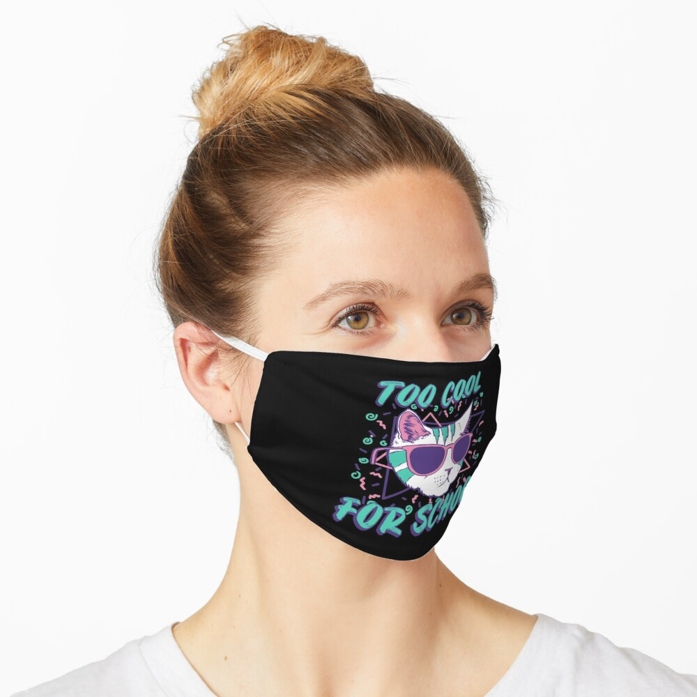 Too Cool For School Cat Mask