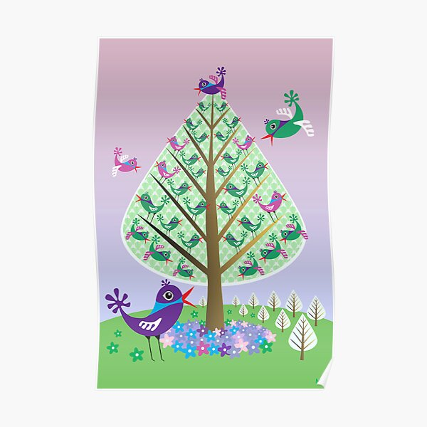 The Flutter Tree Poster