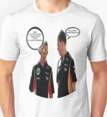 Räikkönen: well you don't simply use the word fuck to a world champion T-Shirt