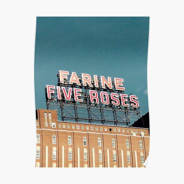 farine cinq roses Poster