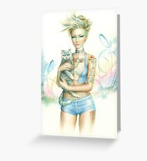 Wonderland By Scot Howden Greeting Card