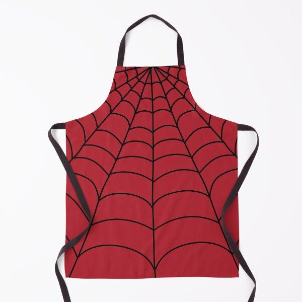Classic spider web superhero Apron