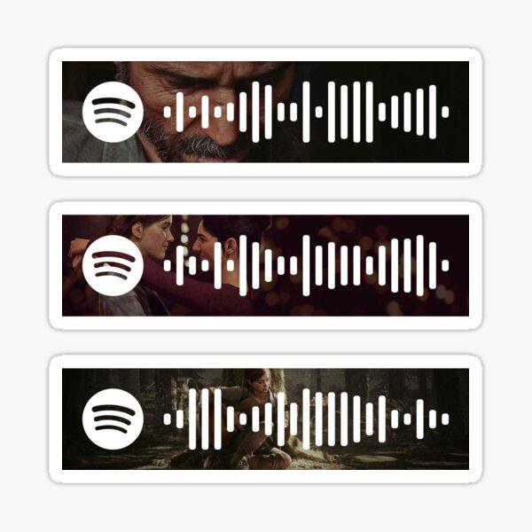 Códigos de Spotify de The Last of Us Part 2 Pegatina