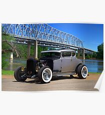 1931 Ford Coupe Hot Rod Poster
