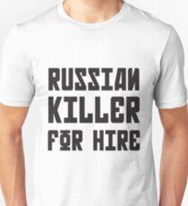 Russian Killer For Hire Unisex T-Shirt