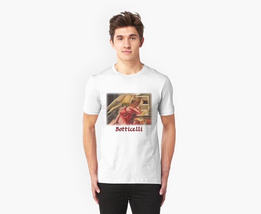 Botticelli - Angel  by William Martin