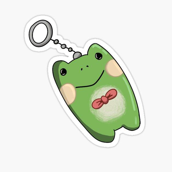 Yoonbum's Froggy Keychain (Killing Stalking) Sticker