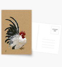 Japanese Bantam Rooster Postcards