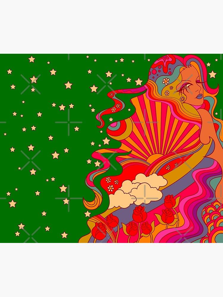 Psychedelic Lady by MissPennyLane