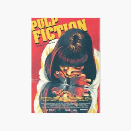 Pulp Fiction Art Board Print