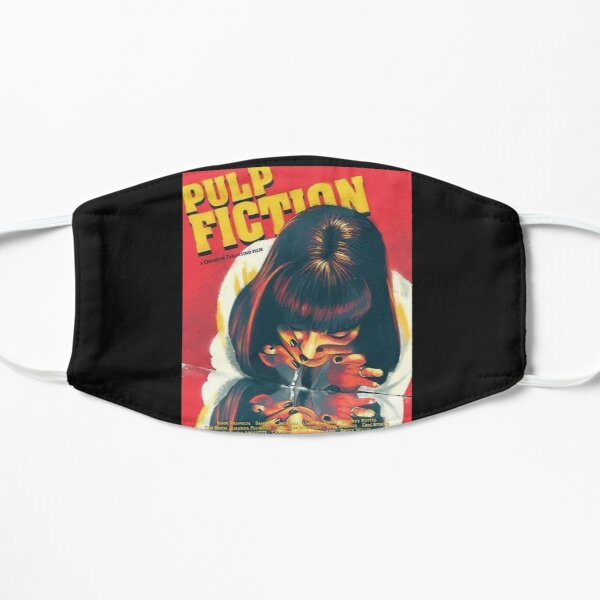 Pulp Fiction Mascarilla plana