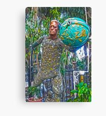 Earth Man Canvas Print